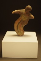 "Artifact of Faith, 2013,4""x1""x5"", Ceramic"