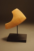 "Specimen, 2012, 6""x5""x6"", Pear Wood & Steel"