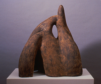 "Oh To Southwest Sandstone, 1991, 38""x32""x18"", Ceramic"