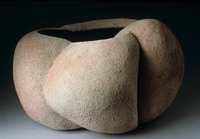"Untitled, 1988, 17""x14""x9"", Ceramic"