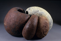 "Untitled, 1989, 31""x24""x16"", Ceramic"