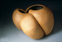 "Untitled, 1988, 13""x11""x9"", Ceramic"