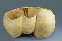 "Untitled, 1988, 24""x24""x11"", Ceramic"