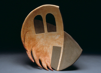 "House Of Fire, 1996, 21""x12""x6"", Ceramic"